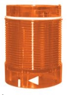 TL50LA1U - ALTECH -  Tower Light, 50mm, Lens Module, 24V AC/DC,Continuous LED, Amber