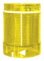TL50LY1U - ALTECH - Tower Light, 50mm, Lens Module, 24V AC/DC, Continuous LED, Yellow