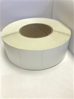 "TT-2WDX1.5LG-795 - Label Size: 2""Hx1.5""W with 0.125"" radius corners, Metalized Polyester Silver Color (PET), 2000 per roll"
