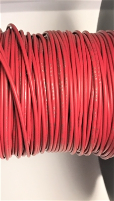 UL1007 -18G-2M - FLEX WIRES - 1000 FT - Red - 18G STRD. TC, UL 1569 / CSA TR-64