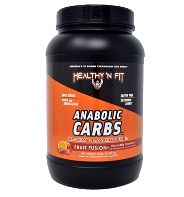 Anabolic Carbs- Natural Fruit Fusion 3lb