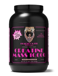 Creatine Mass 10,000 Vanilla Ice Cream Flavor 3.5Lbs