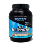 100% Egg Protein French Vanilla Flavor 2lb.