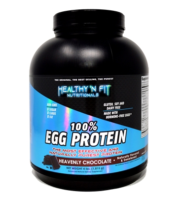 100% Egg Protein Chocolate Flavor 4Lbs