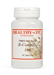 Timed Release Super B Complex 100 (100 Caplets)