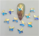 SWAROVSKI 2854 BUTTERFLY FLAT BACK 8MM