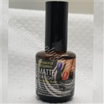 MIA SECRET NAILS MATTE TOP COAT 0.5 OZ