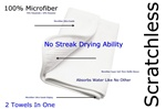 Microfiber Scratchless Drying Towel