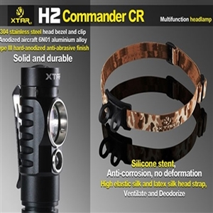 XTAR H2 Commander CR Headlamp