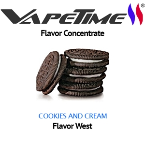Flavor West Cookies and Cream - 50 ml