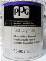 FAST DRY 35 ENAMEL WHITE BASE 5 Gallon