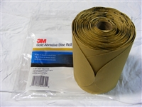"3M Gold Stikit Disc 6"" P180 175/Roll"