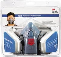 3M Professional Respirator 7512PA1-A Medium