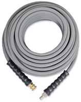 "3/8"" X 100' 4000 psi non-marking hose with quick connects"