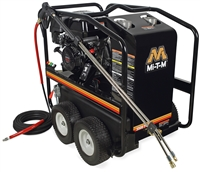 MI-T-M 3500 PSI Hot Water Pressure Washer