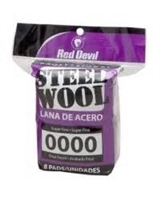 RED DEVIL 8PK STEEL WOOL