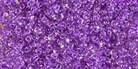 Miyuki 10/0 Triangle Beads 10 Grams 10TR1123 ICL Clear/Purple