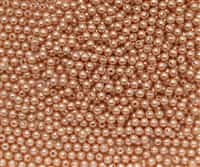 3mm Swarovski Crystal Rose Peach Pearls - 50 count