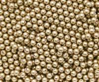 4mm Swarovski Crystal Bright Gold Pearls 50 Count