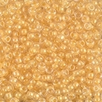 Miyuki Rocaille Seed Beads 10 Grams 8RR202 ICL Clear/Canary Yell