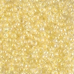 Miyuki Rocaille Seed Beads 10 Grams 8RR273 AB Light Yellow Crystal
