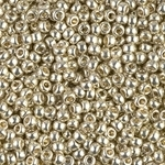 Miyuki Rocaille Seed Beads 10 Grams Duracoat 8RR4201 Silver