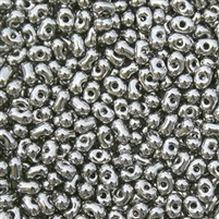 Miyuki Berry Seed Beads BB-190 M Nickel Plated - 8.5 Grams