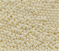 Pearl Coat Round 3mm : CP3-10000 - Pearl - Cream - 50 pcs
