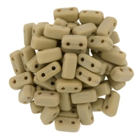 CzechMates Bricks 3x6mm - CZB-M13070 - French Beige - Matte - 25 Pieces