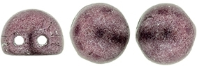 CZMCAB-77049 - CzechMates Cabochon 7mm : ColorTrends: Saturated Metallic Dusty Cedar - 12 Count