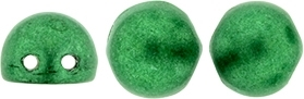 CZMCAB-77051 - CzechMates Cabochon 7mm : ColorTrends: Saturated Metallic Lush Meadow - 12 Count