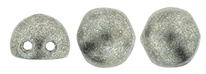 CZMCAB-77053 - CzechMates Cabochon 7mm : ColorTrends: Saturated Metallic Sharkskin - 12 Count