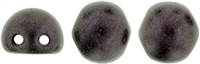 CZMCAB-79083 - CzechMates Cabochon 7mm : Metallic Suede - Dk Plum - 12 Count