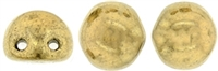 CZMCAB-90215 - CzechMates Cabochon 7mm : Bronze - 12 Count