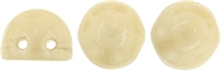 CZMCAB-P14413 - CzechMates Cabochon 7mm : Opaque Luster - Champagne - 12 Count