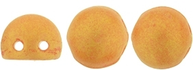 CZMCAB-PS1004 - CzechMates Cabochon 7mm : Pacifica - Tangerine - 12 Count