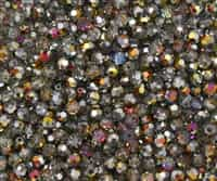 Machine Cut 4mm Round Crystals : CZRC4-28001 - Crystal/Marea - 25 count