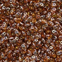 DU0510060-22501 - SuperDuo 2.5X5mm Topaz Celsian - 8 Grams