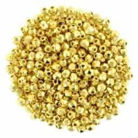 FP2-270 - Firepolish 2mm : 24K Gold Plated - 25 pieces