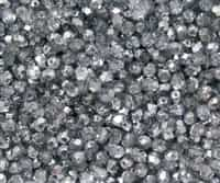 Firepolish 4mm: FP4-67332 - Crystal Sky Metallic Ice - 25 pieces