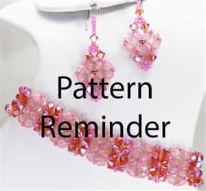 2016 Spring Fashion Color Rose Quartz Bracelet & Earrings Reminder