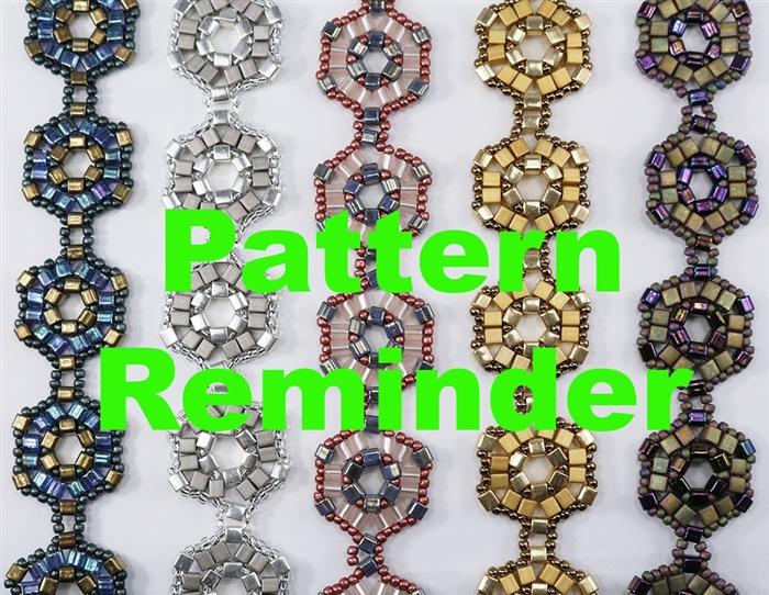 Deb Robertis Cubism Bracelet Amp Earrings Pattern Reminder