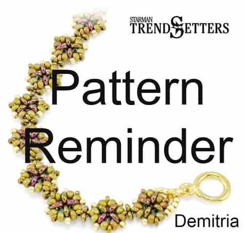 Starman Demitria Bracelet Pattern Reminder