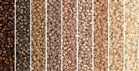 Bronze Gradation Monday - Exclusive Mix of Miyuki Delica Seed Beads