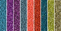 Capri Monday - Exclusive Mix of Miyuki Delica Seed Beads