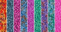 Dark Neon Monday - Exclusive Mix of Miyuki Delica Seed Beads