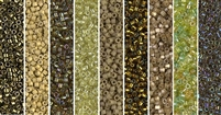 Dried Herb Monday - Exclusive Mix of Miyuki Delica Seed Beads