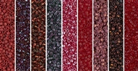 Garnet Monday - Exclusive Mix of Miyuki Delica Seed Beads