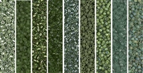 Green Tea Monday - Exclusive Mix of Miyuki Delica Seed Beads