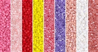 Long Stem Monday - Exclusive Mix of Miyuki Delica Seed Beads